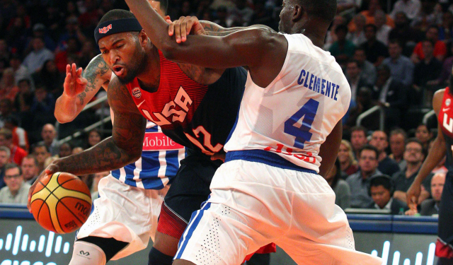 DeMarcus Cousins is in Team USA's rotation.  (USATSI)