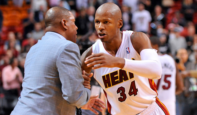 Ray Allen could reunite with ex-coach Doc Rivers in LA.  (USATSI)