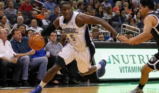 Oladipo sees good things coming in Orlando.  (USATSI)