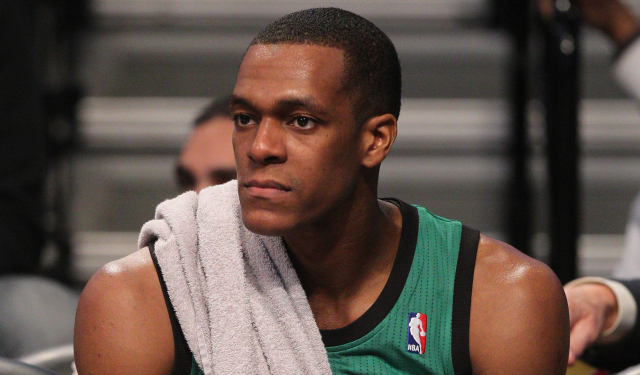 Rajon Rondo says he didn't ask for a trade.  (USATSI)