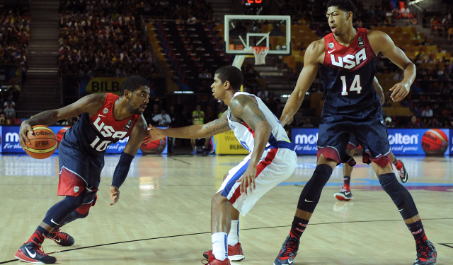 Team USA destroyed the Dominican Republic on Wednesday.  (Getty)