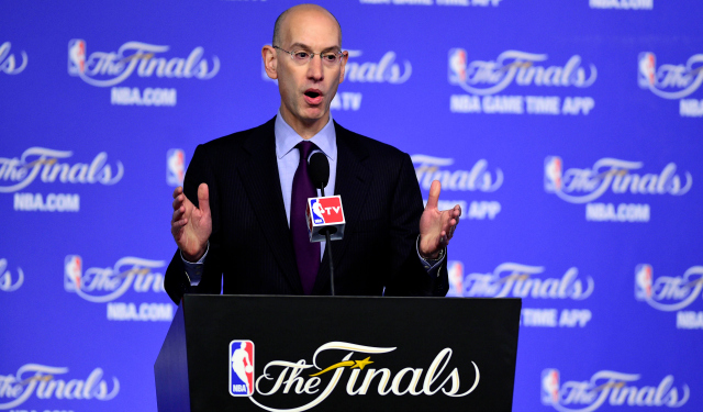 Adam Silver has no moral issue with sports betting.  (USATSI)