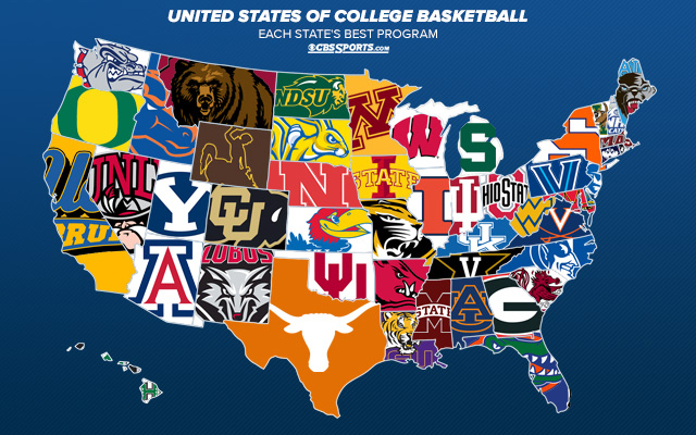 The United States of College Basketball: Top program in ...
