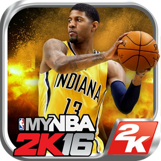 Paul George gets to be the cover athlete for the mobile future. (USATSI)