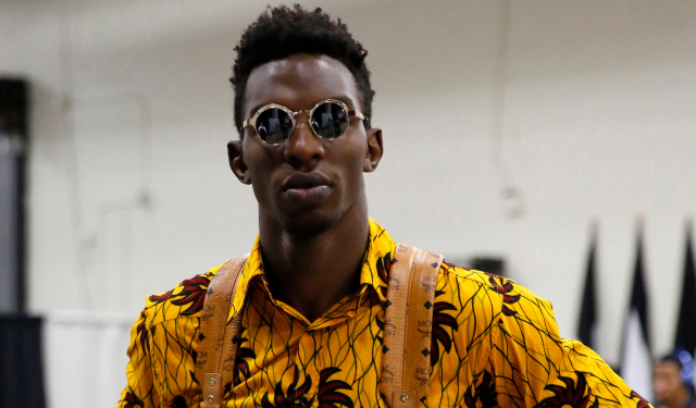 Hasheem Thabeet will reportedly be on Detroit's training camp roster.  (USATSI)