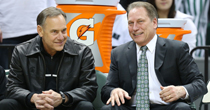 Mark Dantonio, Tom Izzo (USATSI)