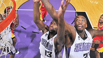Tyreke Evans and Donte Greene (Getty Images)