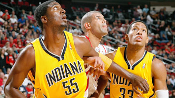 Roy Hibbert and Danny Granger (Getty Images)
