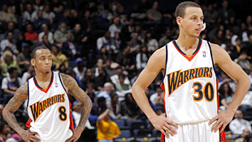 Stephen Curry and Monta Ellis (Getty Images)