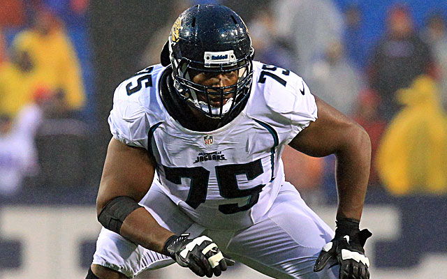 The Jaguars have agreed to trade starting left tackle Eugene Monroe to the Ravens. (USATSI)