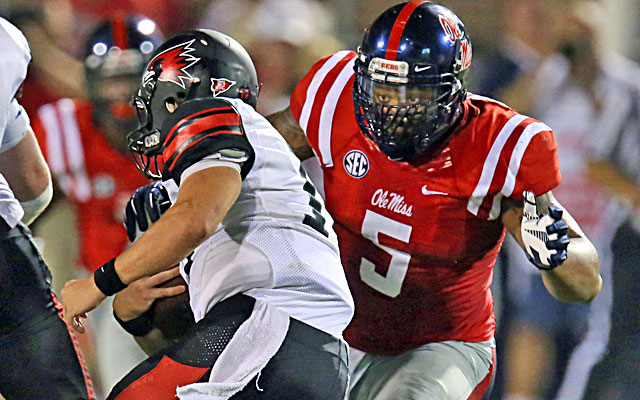 Robert Nkemdiche has tallied 10 tackles (four TFLs) along with two passes broken up. (USATSI)