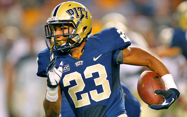 Pitt's Tyler Boyd leads the ACC and is sixth in the country in all-purpose yardage. (USATSI)