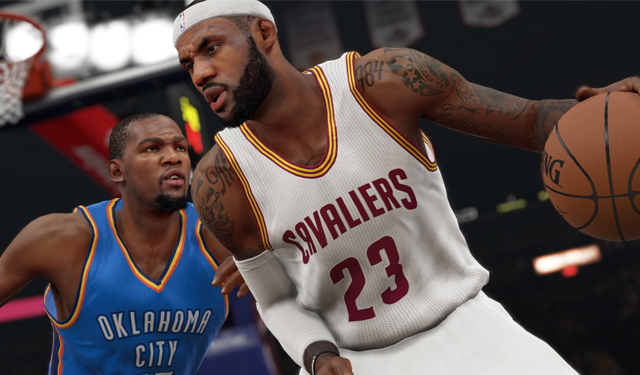 Take control of the NBA in any way you want in NBA 2K15.  (2K Sports)