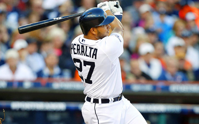 The Tigers came alive when Jhonny Peralta tied it with his three-run home run in the fifth inning. (USATSI)