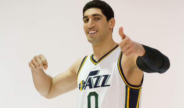 Utah's Enes Kanter is shooting 3s now - CBSSports.com