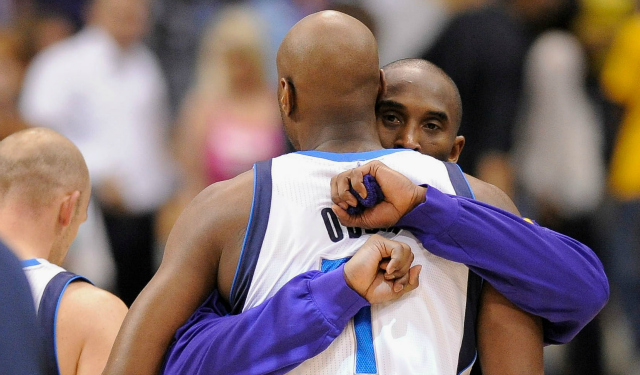 Kobe Bryant and Lamar Odom were teammates for seven seasons on the Lakers.  (USATSI 44be7ca83
