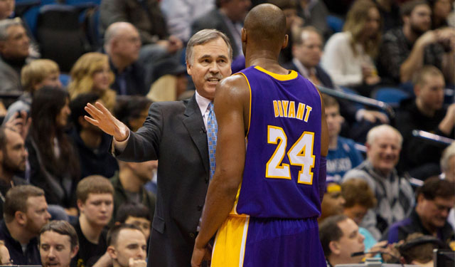D'Antoni doesn't expect to be talking to Bryant on the court opening night. (USATSI)