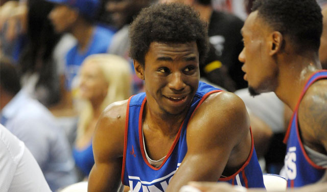With Andrew Wiggins comes a lot of hype and an experience we'll have to see -- to believe that hype. (USATSI)
