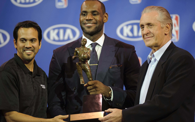 LeBron James is the favorite to win MVP, which would be his fifth.   (USATSI)