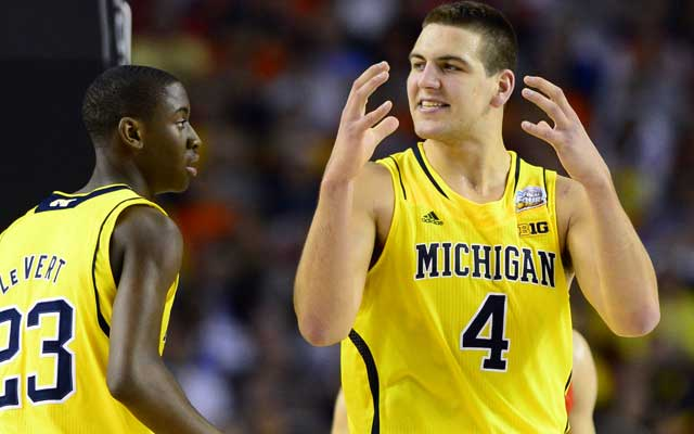 Mitch McGary is the major man in the middle for Michigan this season. (USATSI)