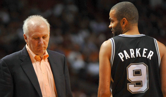 Gregg Popovich is worried about the safety of players along the baseline. (USATSI)