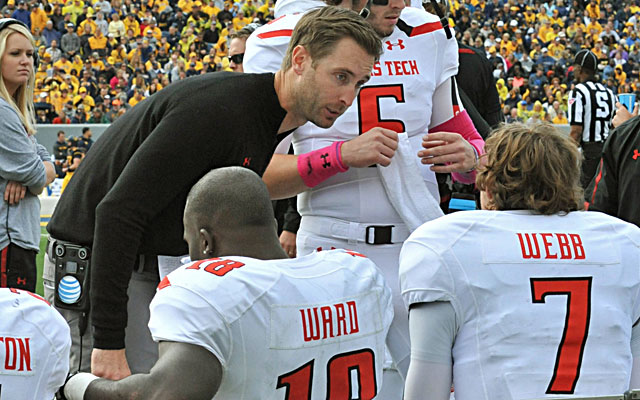 Texas Tech's Kliff Kingsbury continues to work his magic with freshman quarterbacks.   (USATSI)
