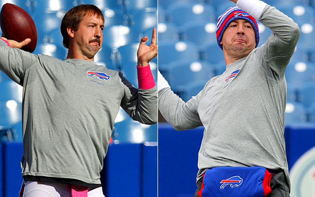 Kyle Orton  before and after Uncle Rico Kyle Orton