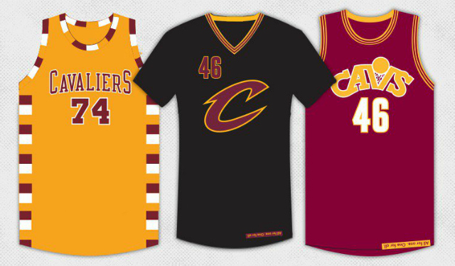9232d8e91f0 Cavaliers reveal alternate jerseys for 2015-16 season - CBSSports.com