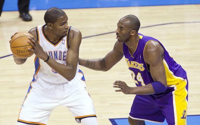 GM Survey: Kevin Durant should take the final shot over Kobe, LeBron