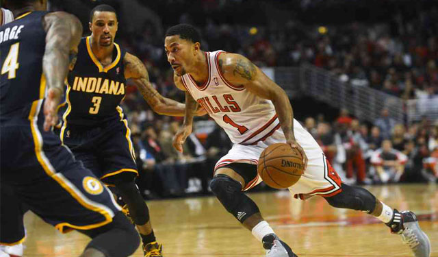 Hill doesn't agree with Rose that the Pacers and Bulls aren't rivals. (USATSI)