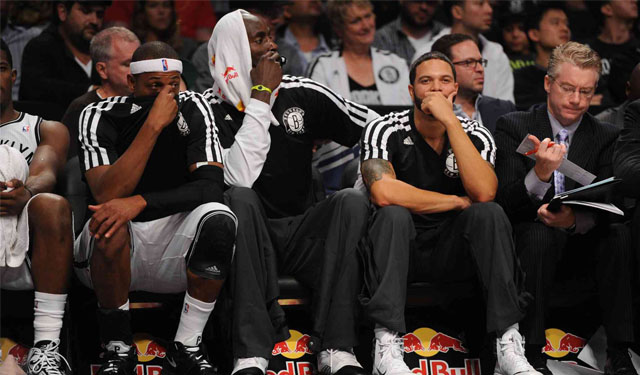 Pierce and Garnett are in town but not going to participate in the game. (USATSI)