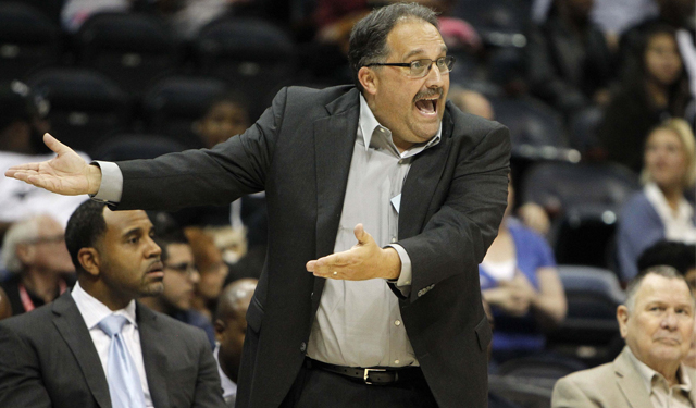 Stan Van Gundy Pistons Stan Van Gundy is on Board