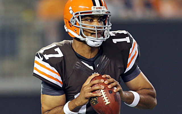 Jason Campbell has been a steadying influence on Cleveland. (USATSI)