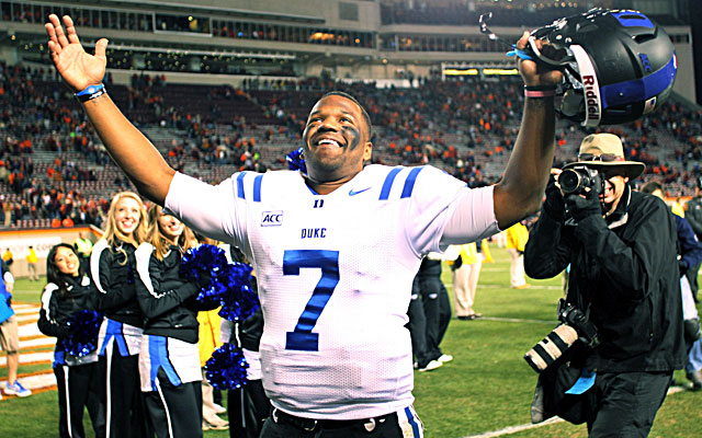 Anthony Boone and the Duke Blue Devils are bowl eligible -- again.  (USATSI)