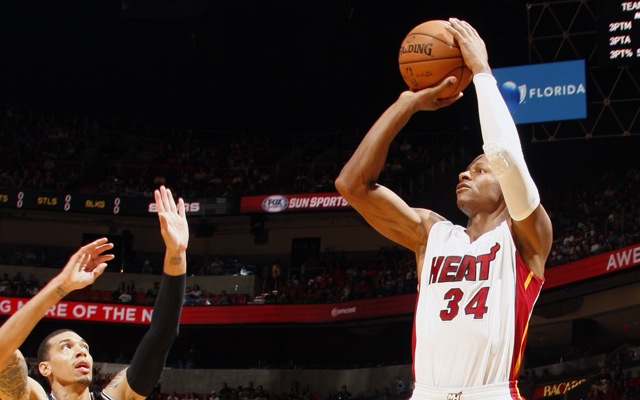Ray Allen could join the team that has nightmares about him.  (USATSI)
