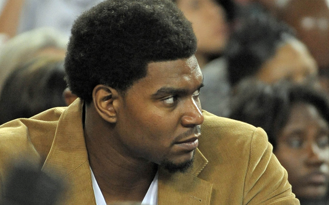Andrew Bynum could play Wednesday.  (USATSI)