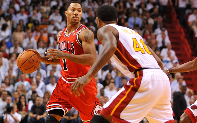 Rose struggled in his first game back but not because of ailments. (USATSI)