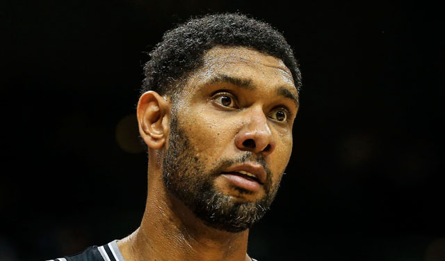 Duncan's chest contusion makes him doubtful for Friday's game. (USATSI)