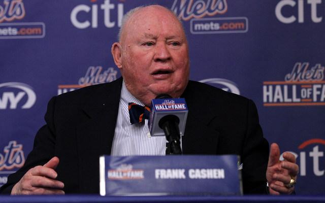 Frank Cashen in 2010.