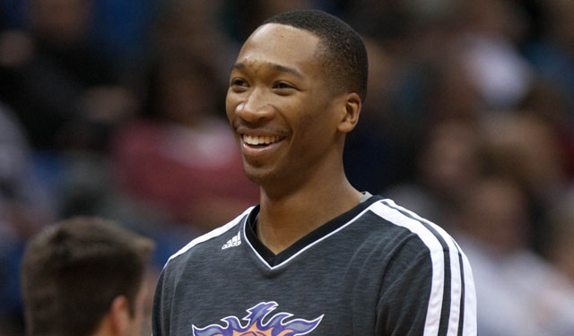 Wes Johnson's foot injury could turn that smile into a frown. (USATSI)