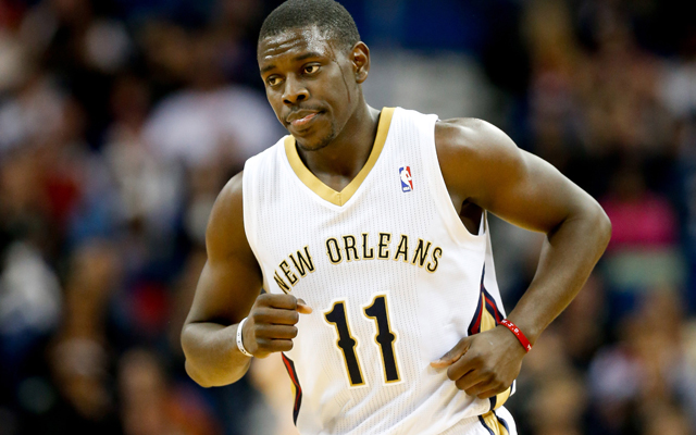 Holiday won't be suiting up for the Pelicans any time soon. (USATSI)