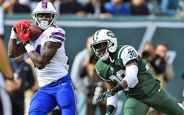 Sammy Watkins has caught 12 balls for 279 yards and 3 TDs in his last two games. (USATSI)