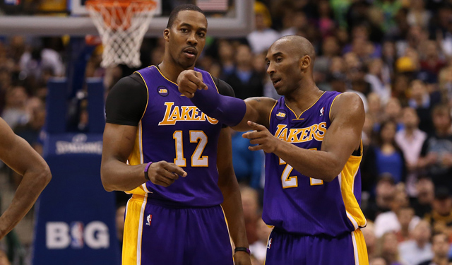 Talks like these don't happen anymore between Dwight and Kobe. (USATSI)