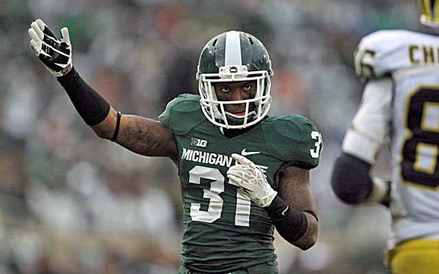 Cornerback Darqueze Dennard could slip down boards during the Combine. (USATSI)