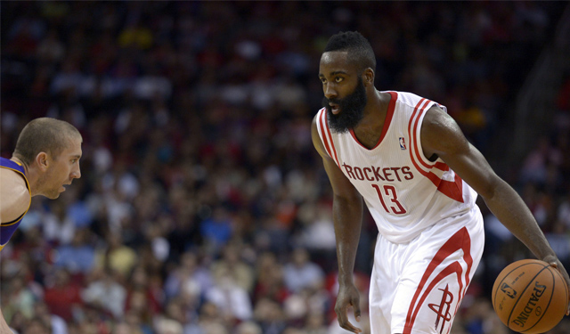 TYou might want to keep an eye on Harden's foot soreness. (USATSI)
