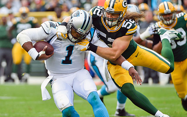 Cam Newton will need better protection if he s going to snap out of his  slump. 3f84845fe