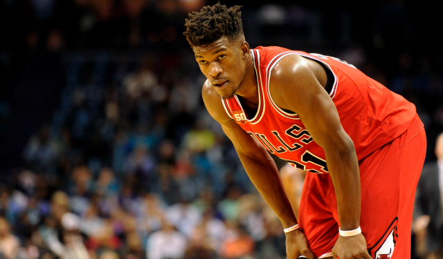 Jimmy Butler learned something from MJ. (USATSI)