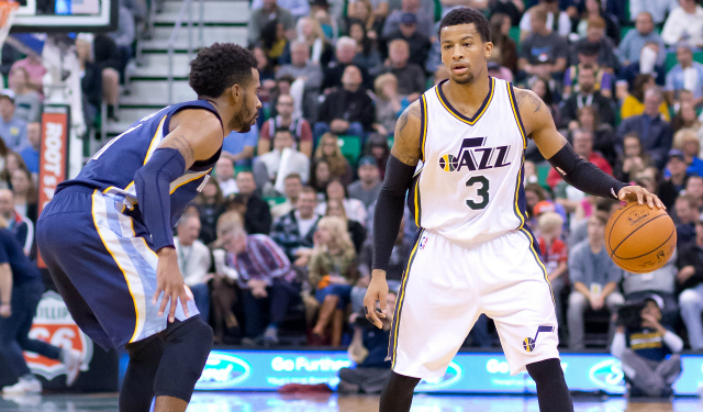 Trey Burke's early improvement is one of the exciting Jazz happenings. (USATSI)
