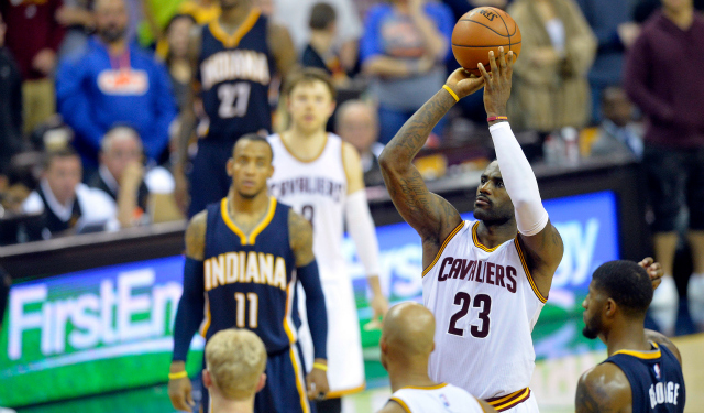LeBron James is tinkering with his shot during shooting slump ...