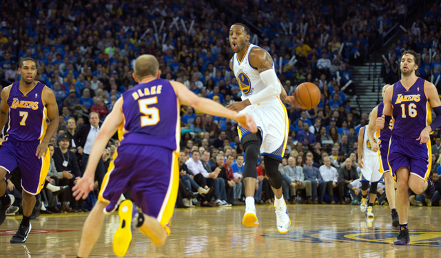Iguodala's offense has been as impressive as his defense. (USATSI)